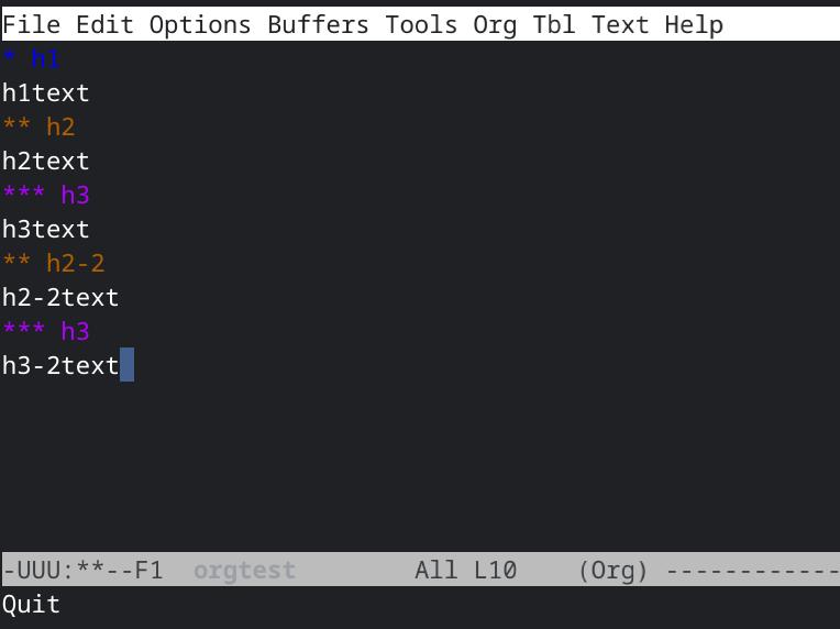 emacs-org-mode